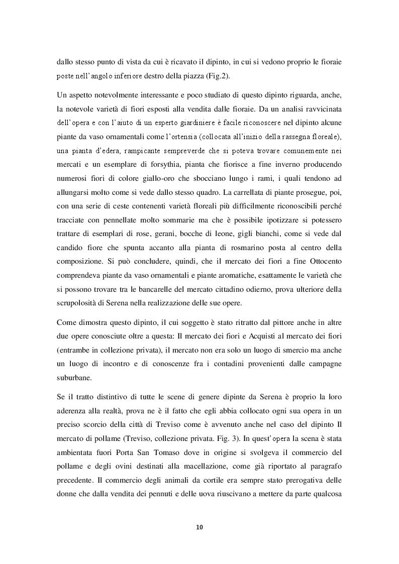 Estratto dalla tesi: La Treviso Ottocentesca nei dipinti di Luigi Serena