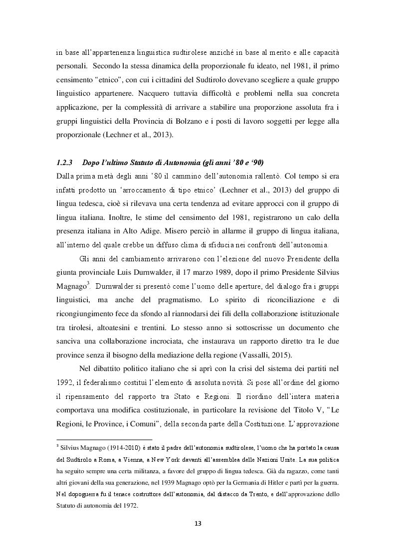 Estratto dalla tesi: L'insegnamento dell'italiano e del tedesco come lingue seconde: due scuole altoatesine a confronto