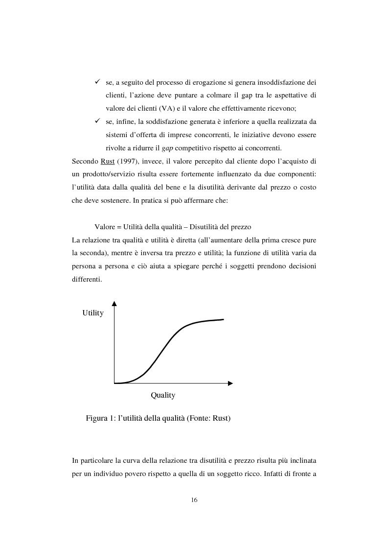 Anteprima della tesi: Sistemi di analisi e gestione della soddisfazione e della fedeltà del cliente, Pagina 12