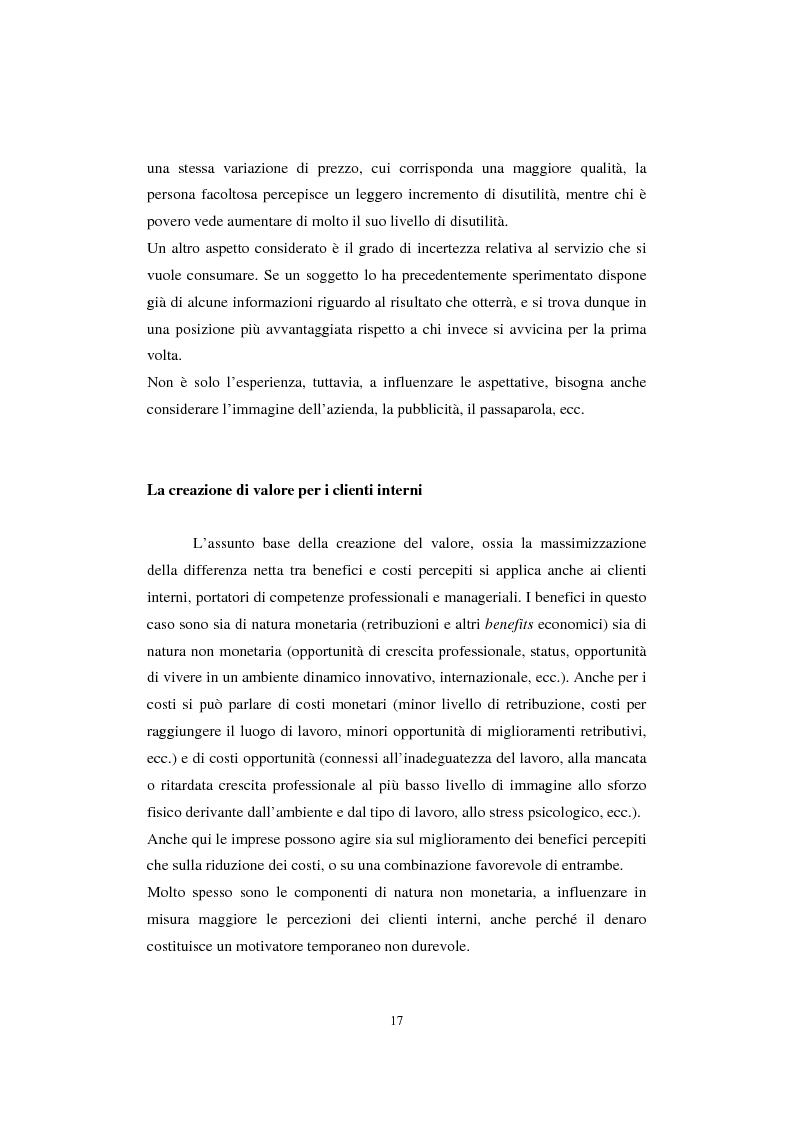 Anteprima della tesi: Sistemi di analisi e gestione della soddisfazione e della fedeltà del cliente, Pagina 13