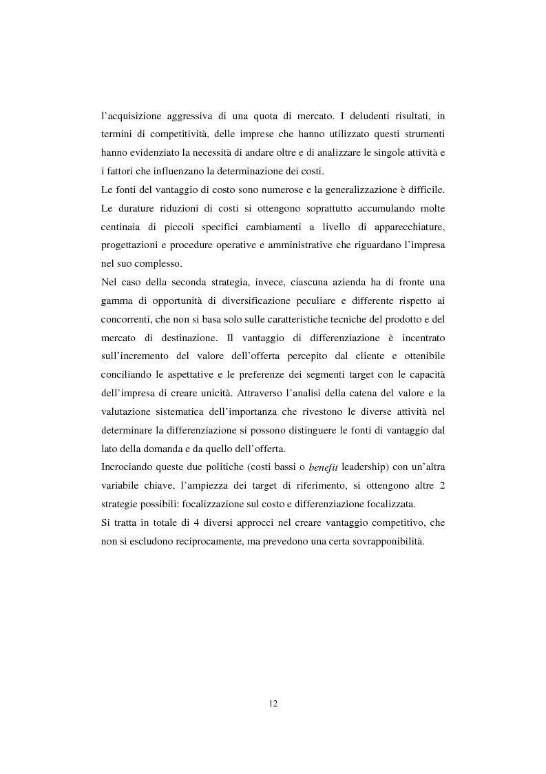 Anteprima della tesi: Sistemi di analisi e gestione della soddisfazione e della fedeltà del cliente, Pagina 8