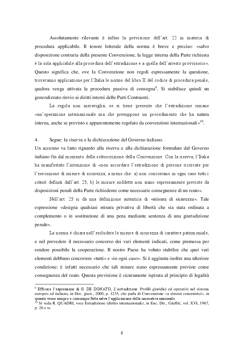 Estratto dalla tesi: Estradizione e mandato d'arresto europeo. Il difficile bilanciamento tra cooperazione giudiziaria e tutela dei diritti umani