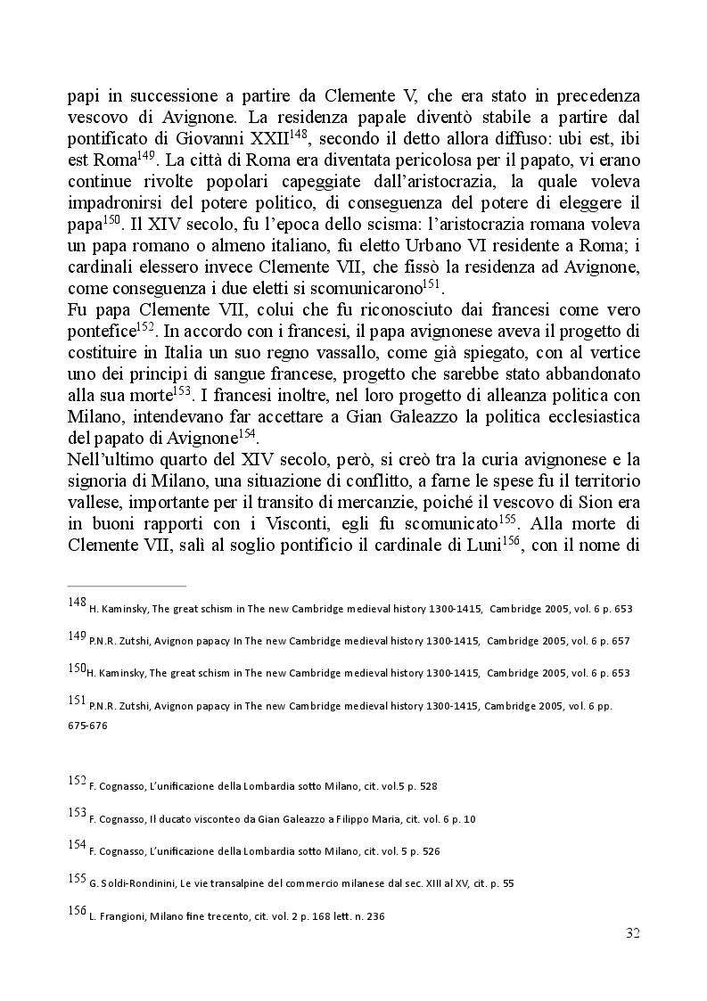 Estratto dalla tesi: ARS ARMORUM MEDIOLANENSIS: le implicazioni politiche del commercio delle armi milanesi dalle lettere di Francesco Datini (1380 - 1407)