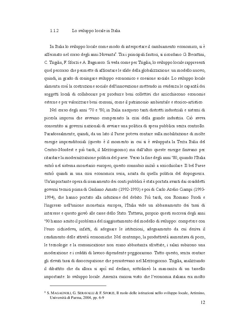 Estratto dalla tesi: Il recupero dei centri storici come strumento di sviluppo locale: il caso di S. Stefano di Sessanio (AQ)