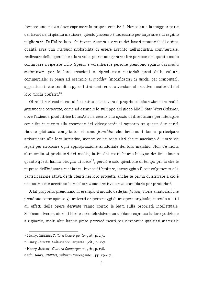Estratto dalla tesi: La subcultura dello yaoi/Boys' Love in Italia: Omoerotismo, creatività e interazioni sociali nel fandom femminile