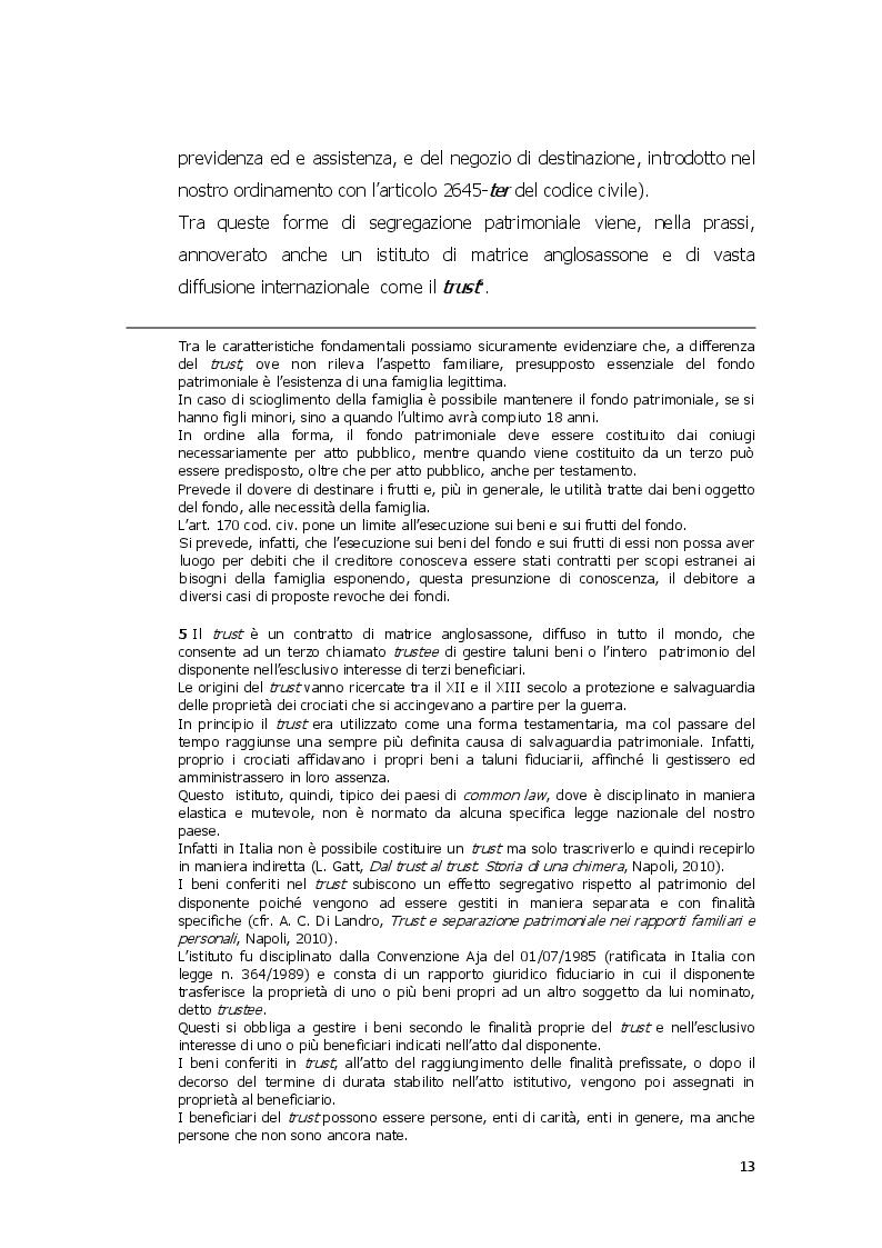 Estratto dalla tesi: Mezzi di conservazione delle garanzie patrimoniali e abuso