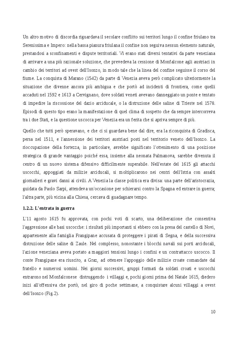 Estratto dalla tesi: A.D.1615: Palma alle armi