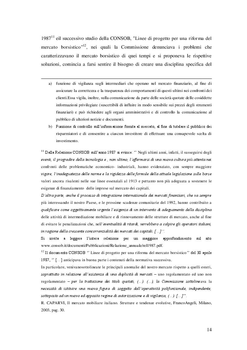 Estratto dalla tesi: Il promotore finanziario: aspetti civilistici e fiscali