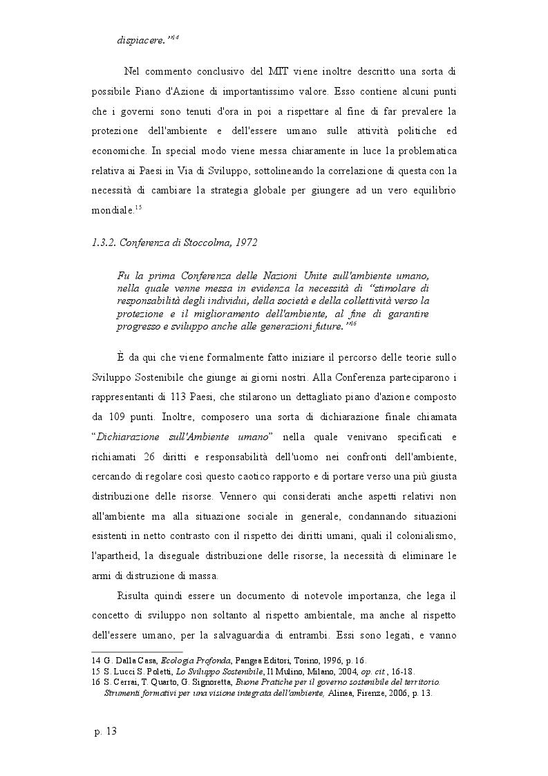 Estratto dalla tesi: Sviluppo sostenibile: profili di giustificazione nella prospettiva dei Diritti Umani