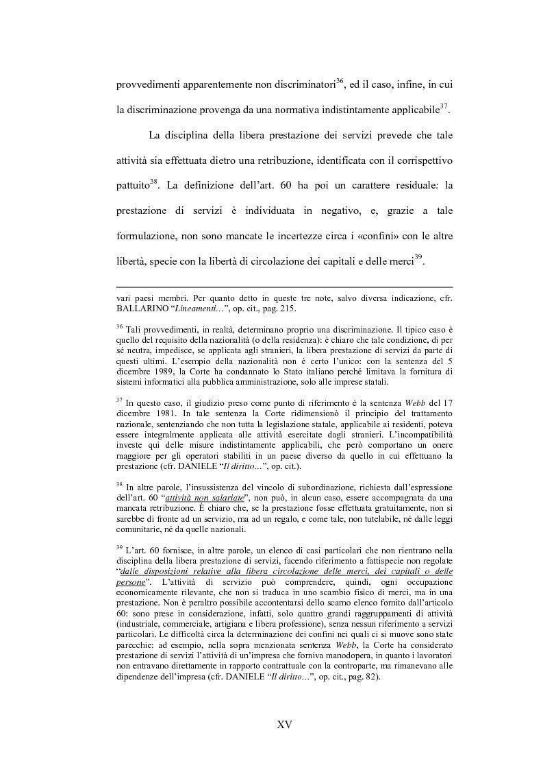 Anteprima della tesi: La sentenza Bosman ed i suoi effetti sull'ordinamento sportivo, Pagina 15