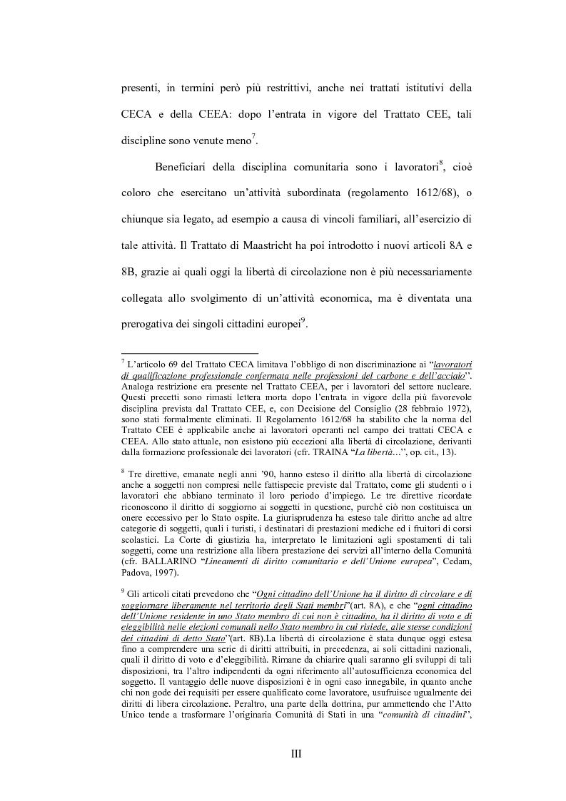 Anteprima della tesi: La sentenza Bosman ed i suoi effetti sull'ordinamento sportivo, Pagina 3