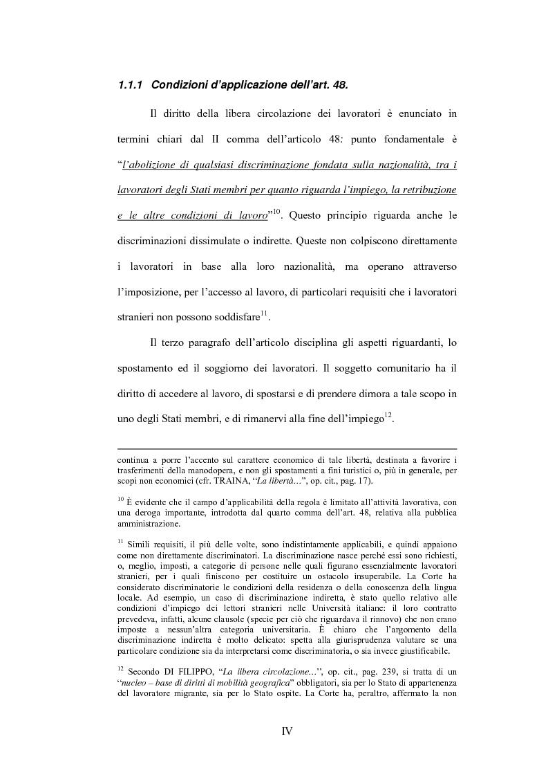 Anteprima della tesi: La sentenza Bosman ed i suoi effetti sull'ordinamento sportivo, Pagina 4