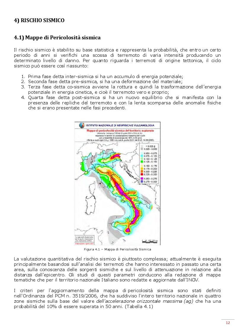 Estratto dalla tesi: Possibile impatto di un massimo sismico in una città monumento. Analisi e individuazione delle aree di immediata emergenza e assistenza per la popolazione del Comune di Siena