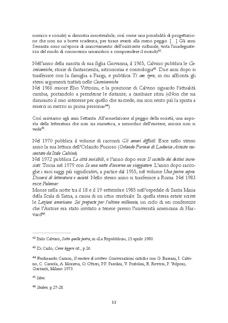 Estratto dalla tesi: Tempo della fiaba e tempo della storia in Calvino