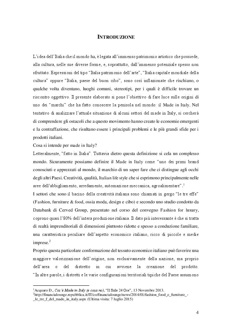Made in Eataly: radici storiche, brand e qualità - Tesi di Laurea