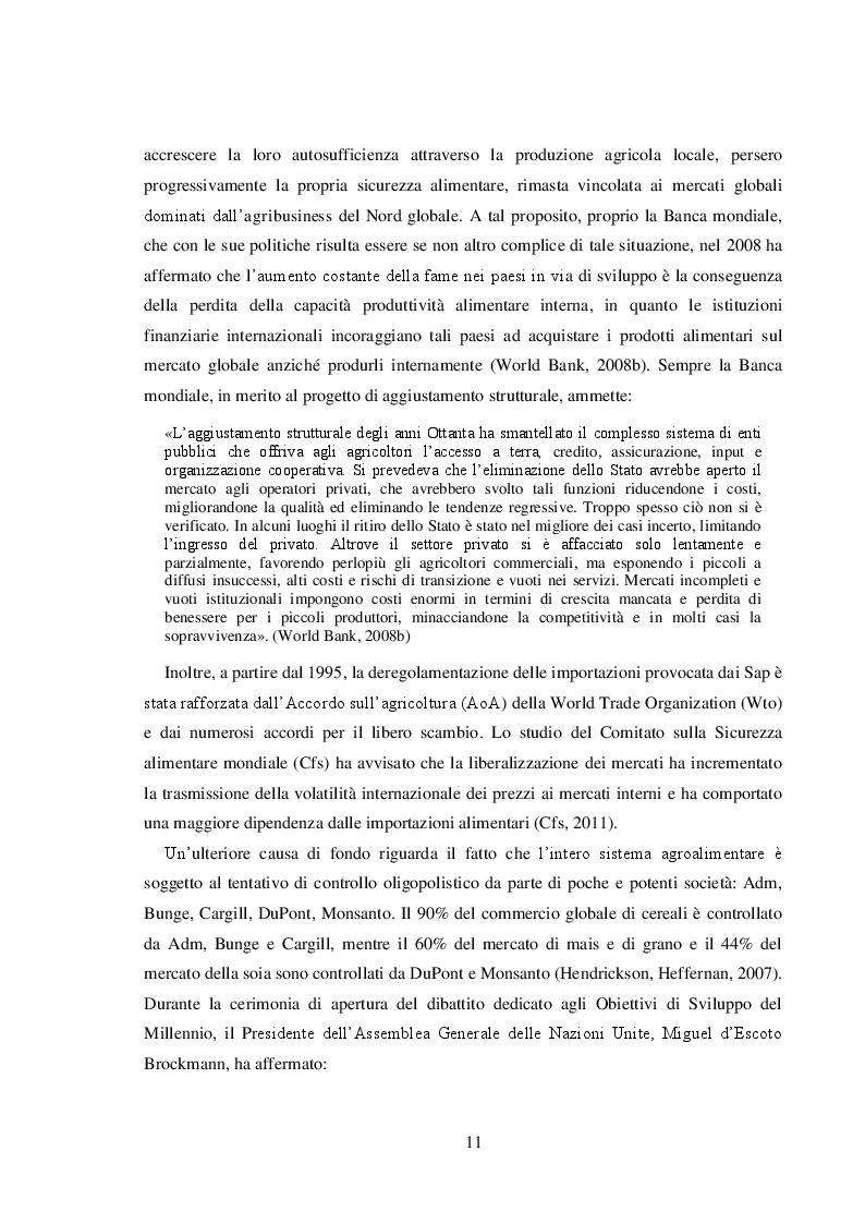 """Estratto dalla tesi: Il movimento agroecologico """"Campesino a Campesino"""" a Cuba - Un processo sociale per la sovranità alimentare e la sostenibilità"""