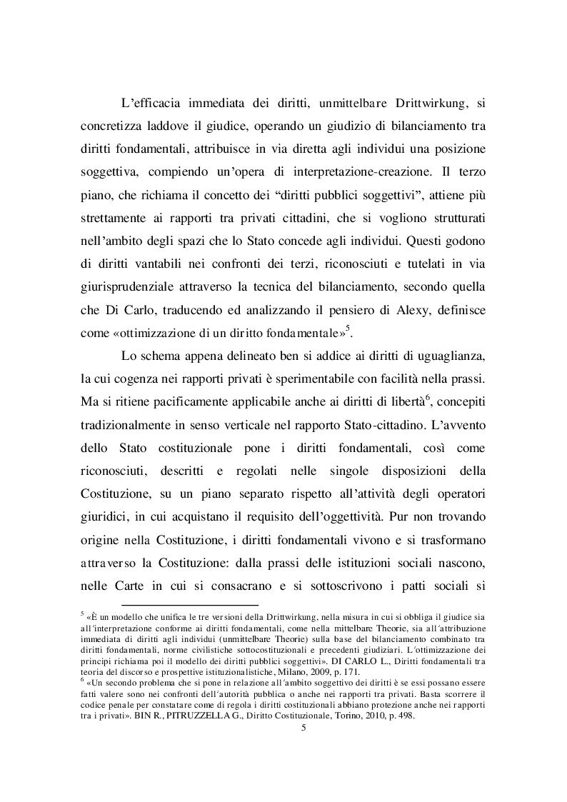 Estratto dalla tesi: Il delitto di tortura in Italia. Dall'habeas corpus alla norma penale