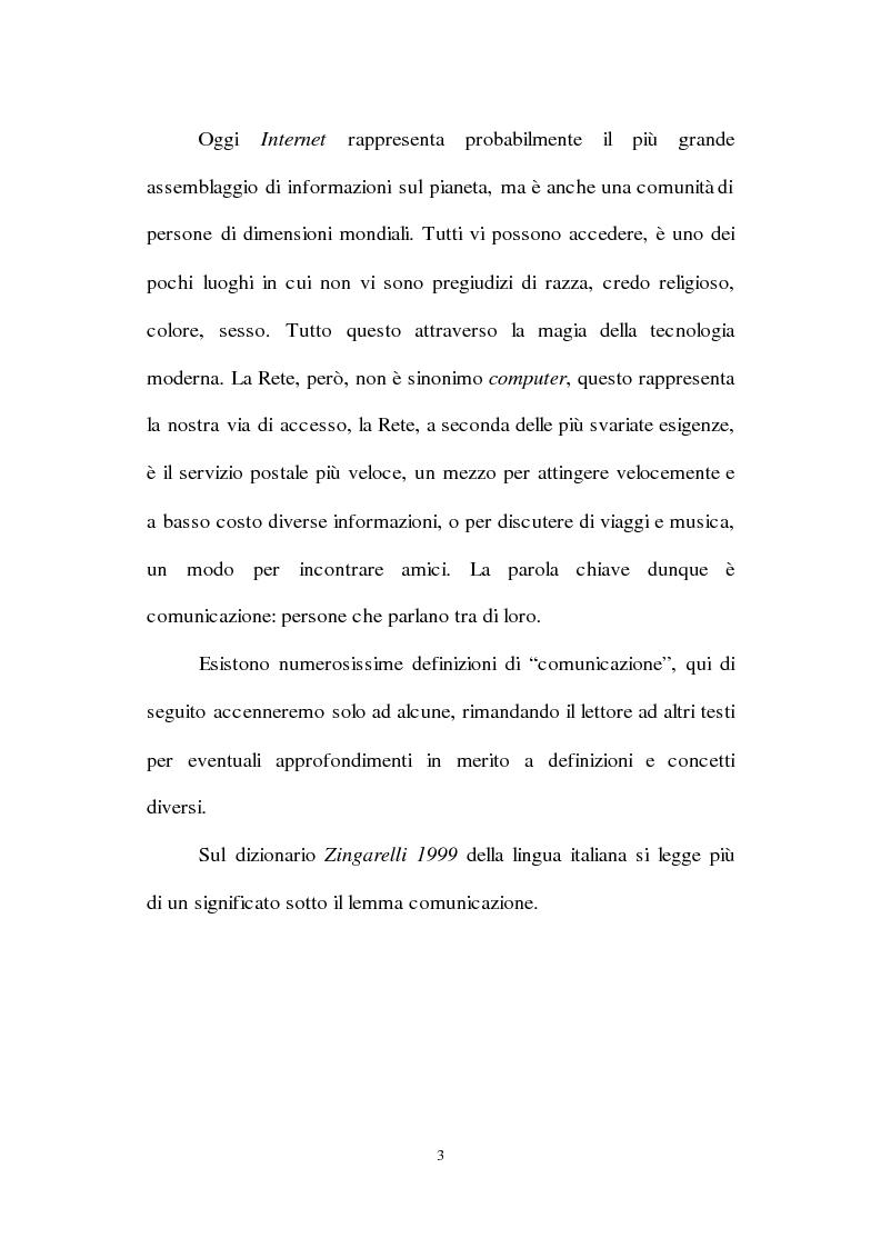 Anteprima della tesi: Lingua inglese e comunicazione nell'era del pc e di Internet: un'analisi sociolinguistica, Pagina 10