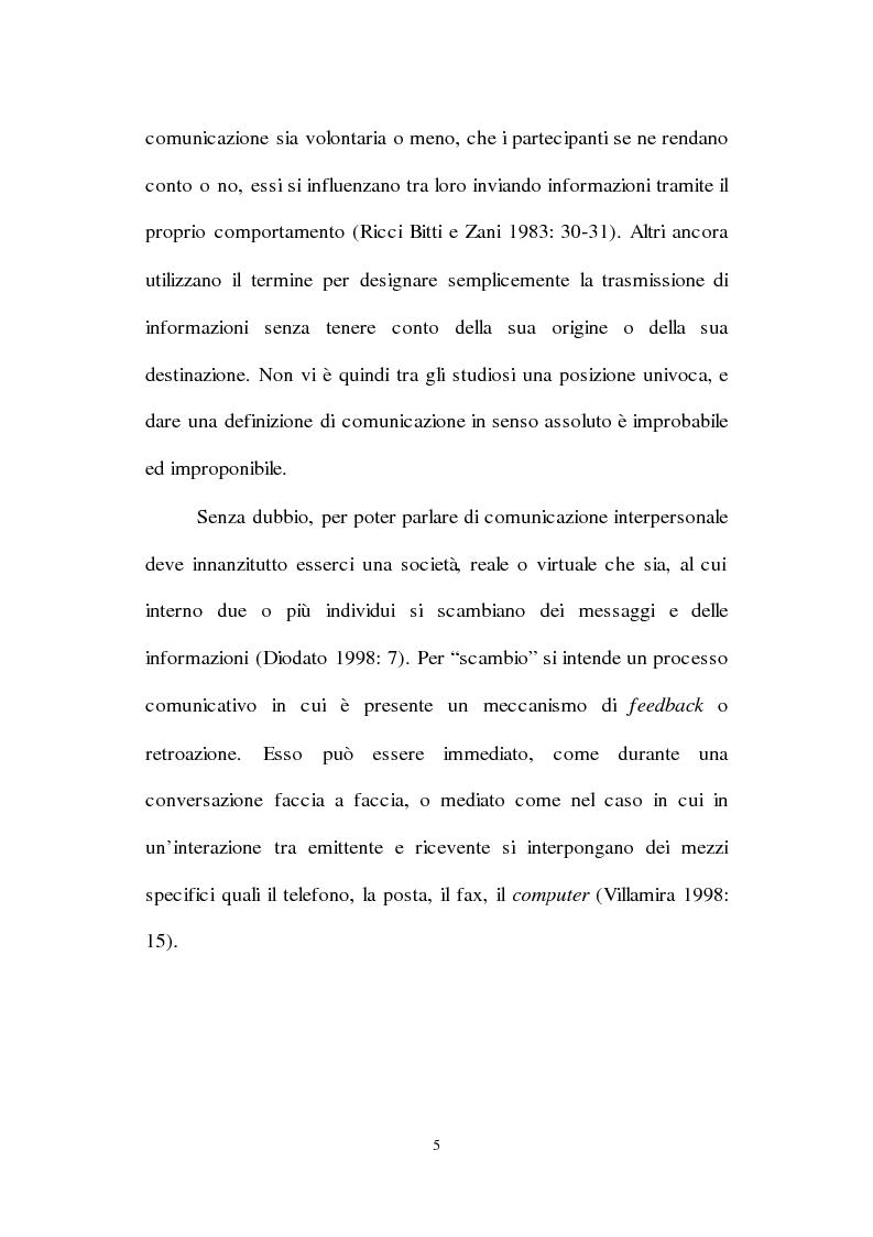 Anteprima della tesi: Lingua inglese e comunicazione nell'era del pc e di Internet: un'analisi sociolinguistica, Pagina 12