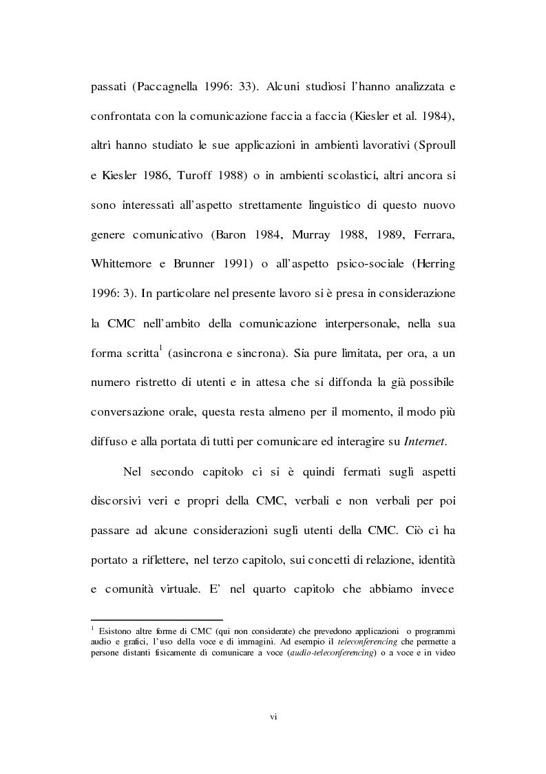 Anteprima della tesi: Lingua inglese e comunicazione nell'era del pc e di Internet: un'analisi sociolinguistica, Pagina 6