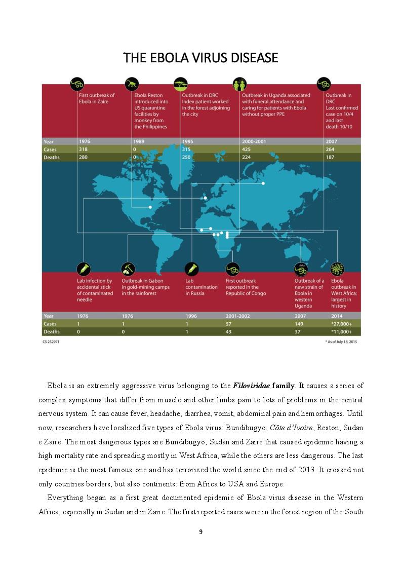 Anteprima della tesi: EVD - The Ebola Virus Disease, una traduzione medica, Pagina 5