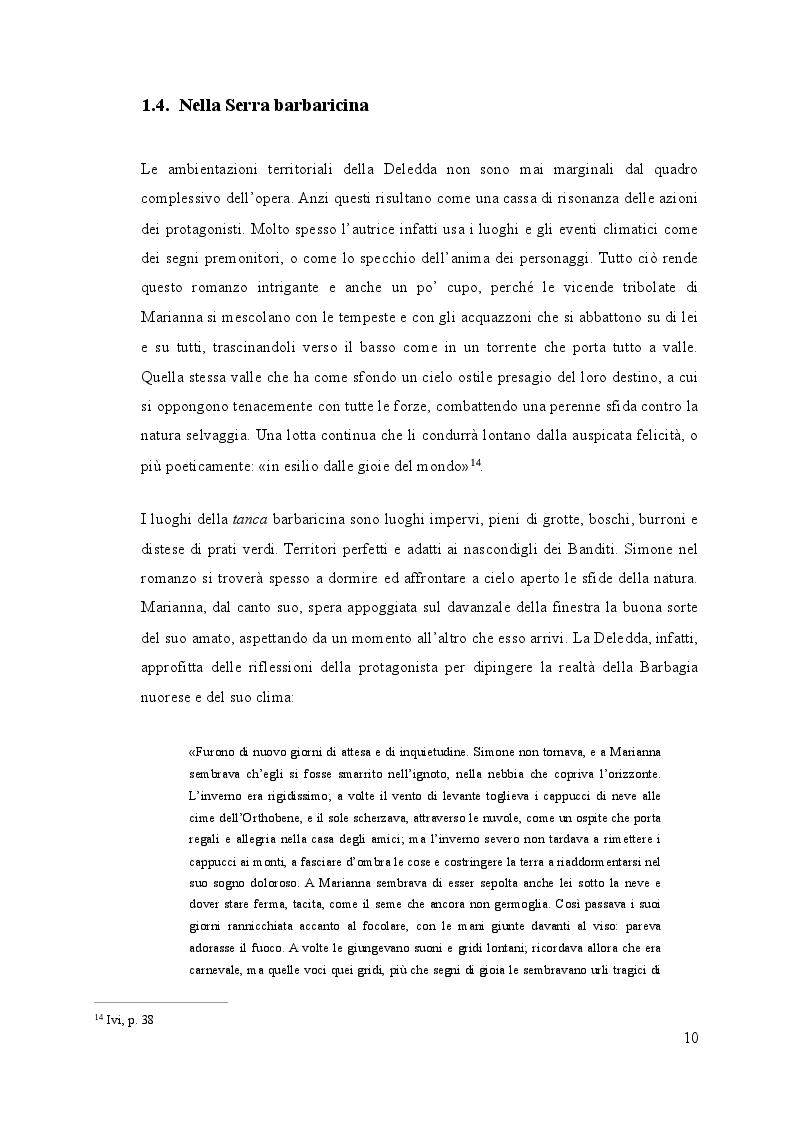 Estratto dalla tesi: Il microcosmo sardo: naturalismo e folklore in quattro romanzi di Grazia Deledda