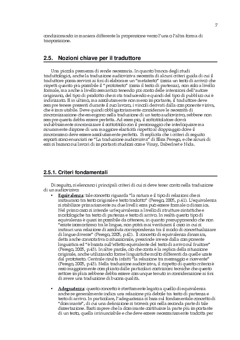 Estratto dalla tesi: Omar Sy a Pardonnez-moi: traduzione in italiano di un audiovisivo