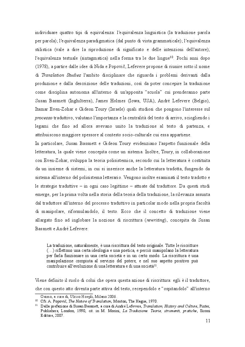 Estratto dalla tesi: Traduzione, analisi e commento traduttologico di un concept album: The Wall (Pink Floyd)