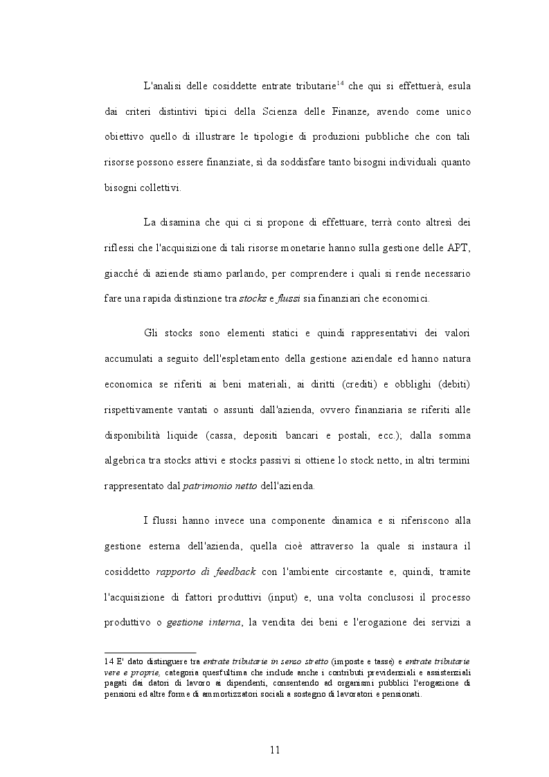 Estratto dalla tesi: La Public Performance nel rapporto tra Fisco e Cittadino