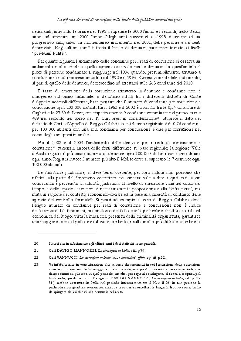 Estratto dalla tesi: La riforma dei reati di corruzione nella tutela della Pubblica Amministrazione