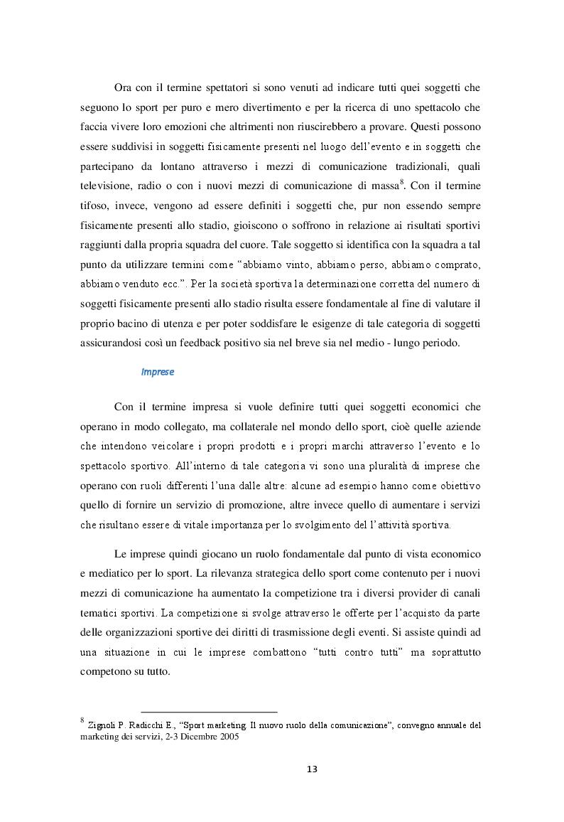 Estratto dalla tesi: Fuga dagli spalti nel mondo del calcio italiano: il modello servicescape applicato allo stadio di proprietà