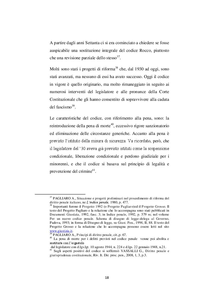 Estratto dalla tesi: Funzione rieducativa della pena e trattamento dei condannati per reati sessuali