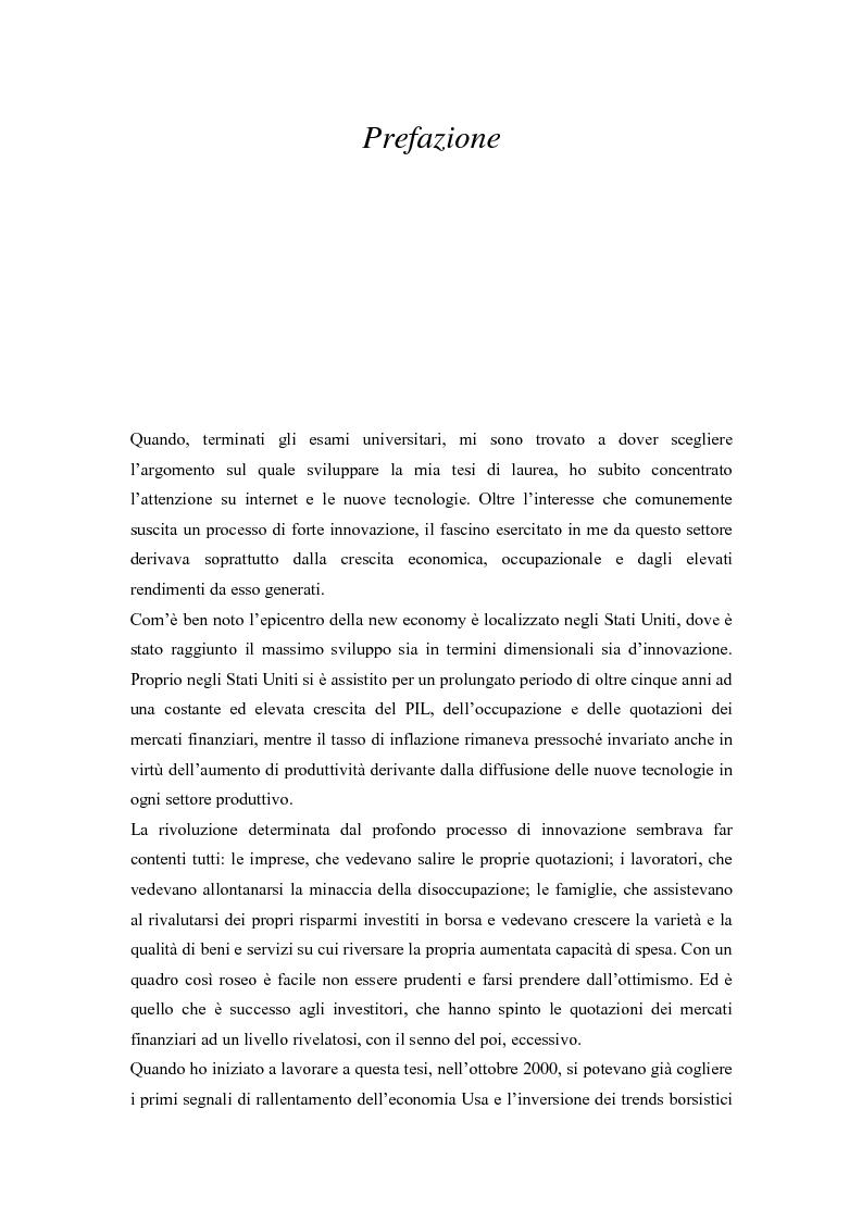 Gli alti rendimenti del venture capital e lo scenario competitivo in Italia - Tesi di Laurea