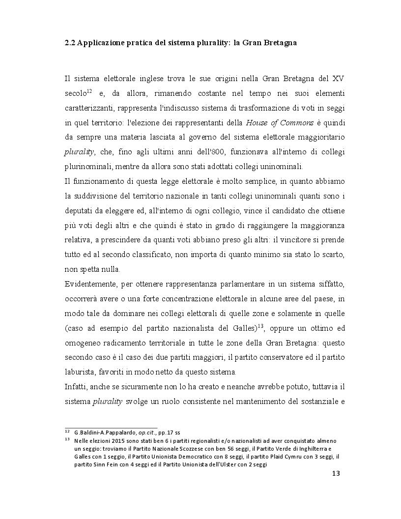 Estratto dalla tesi: Legge elettorale: analisi dell'Italicum e prospettive di comparazione con altri stati occidentali