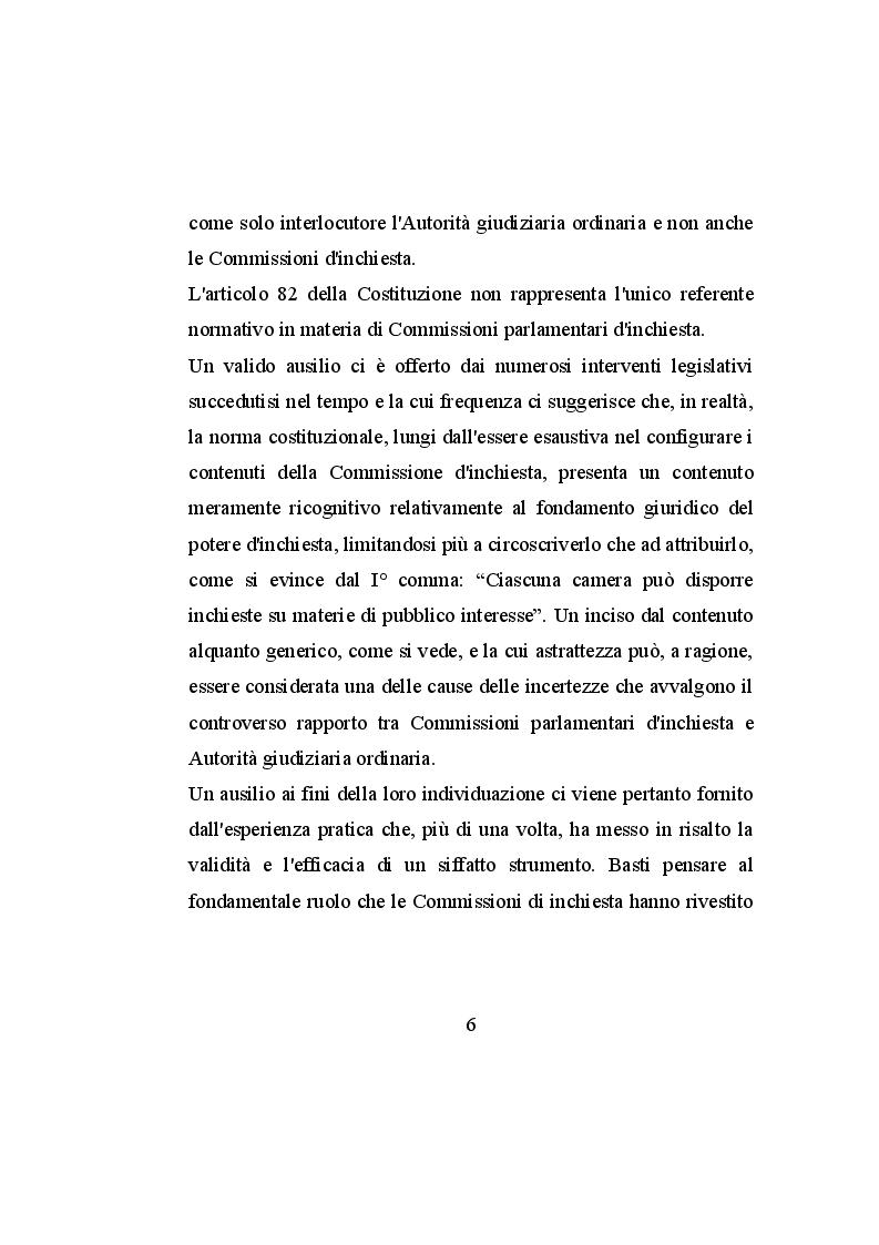 Anteprima della tesi: Le commissioni parlamentari d'inchiesta, Pagina 5