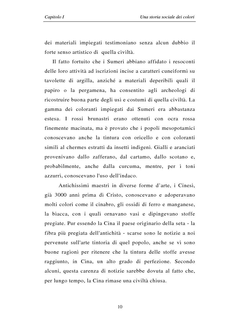 Anteprima della tesi: Il colore: dal simbolo alla campagna pubblicitaria, Pagina 10