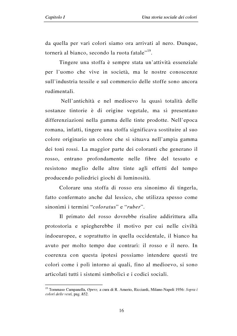 Anteprima della tesi: Il colore: dal simbolo alla campagna pubblicitaria, Pagina 16