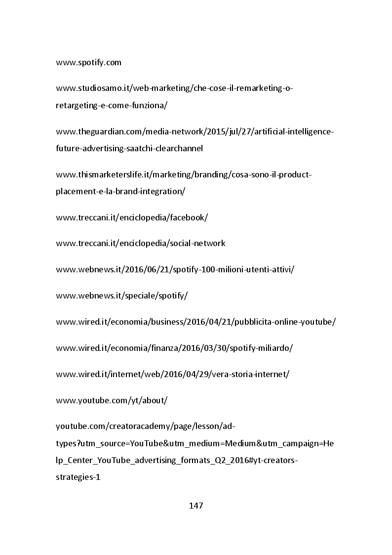 Estratto dalla tesi: L'efficacia dell'iper-personalizzazione dei nuovi messaggi pubblicitari: dai media tradizionali ai media digitali