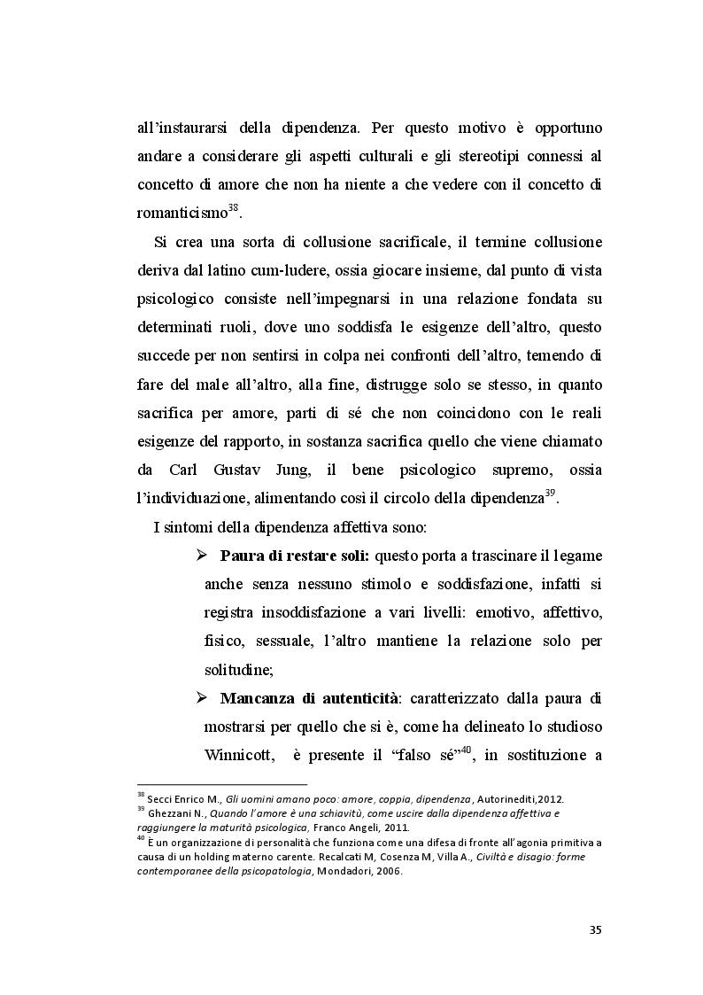 Estratto dalla tesi: La perizia psichiatrica nell'autore di femminicidio
