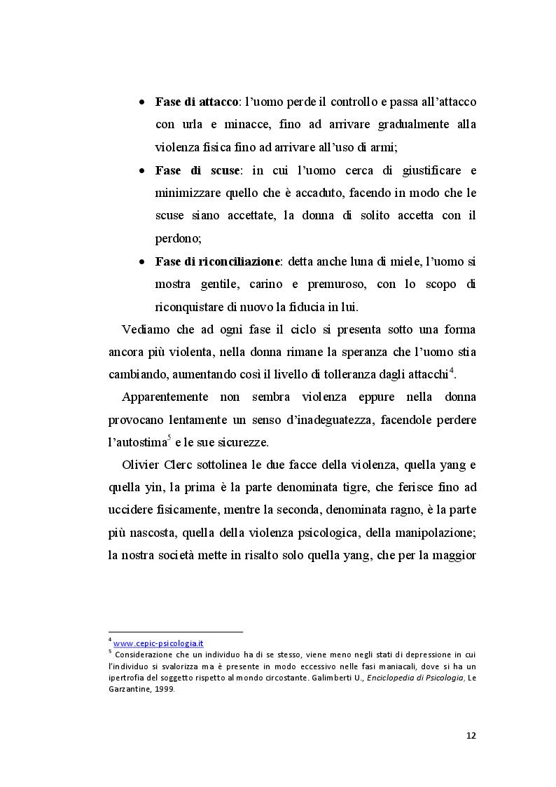Anteprima della tesi: La perizia psichiatrica nell'autore di femminicidio, Pagina 9