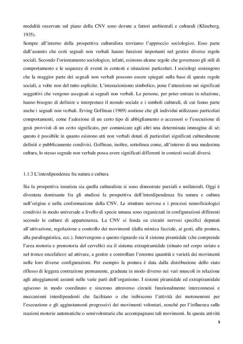 Estratto dalla tesi: Il linguaggio del corpo: strumenti operativi per comunicare in modo efficace nella vendita