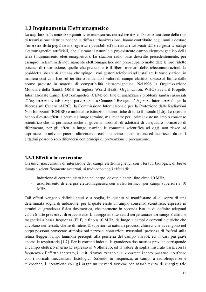 Estratto dalla tesi: Sviluppo di Sensori Passivi di Campo Elettrico Indossabili per Radiofrequenze