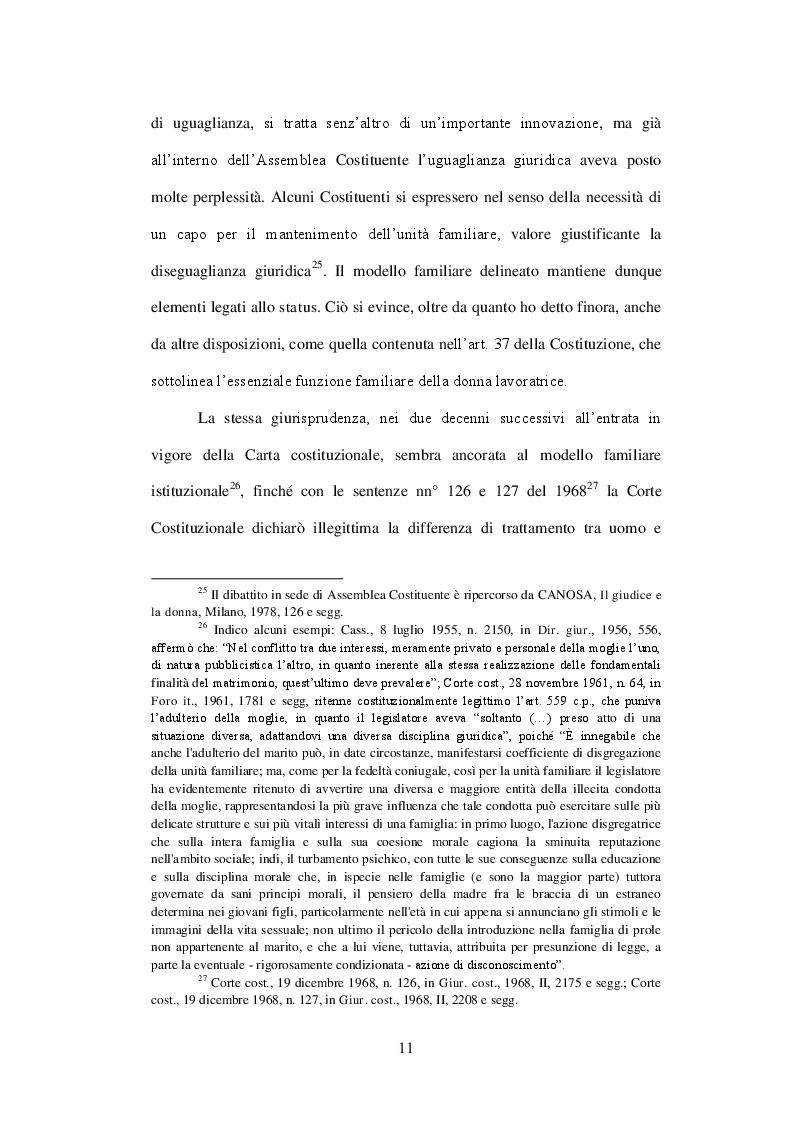 Estratto dalla tesi: Conflitti familiari e giustizia civile