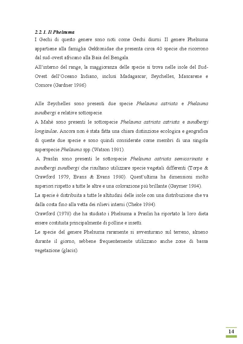 Estratto dalla tesi: Biologia, conservazione e problemi evolutivi di specie minacciate in ambiente insulare tropicale: il Gheppio delle Seychelles (Falco araea)