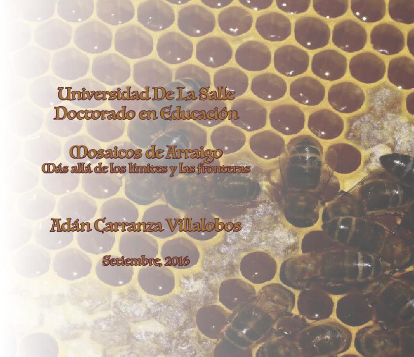 Anteprima della tesi: Mosaicos de arraigo. Más allá de los límites y las fronteras., Pagina 1