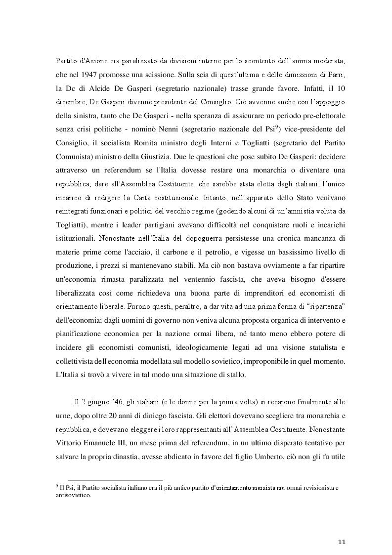 Estratto dalla tesi: Luciano Bianciardi e gli anni '60: immagini del boom negli scritti narrativi e giornalistici