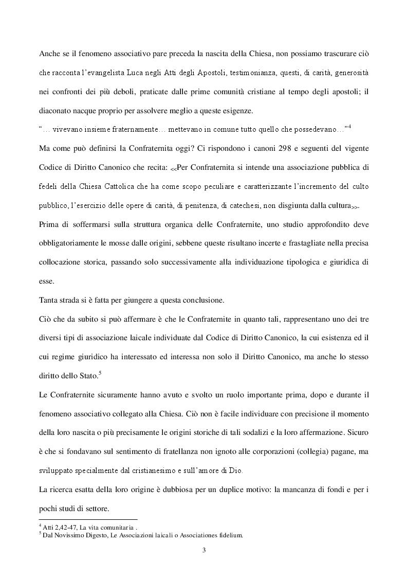 Estratto dalla tesi: Viaggio nelle Confraternite tra storia e diritto: alla ricerca della Confraternita del Monte dei Morti di Roccarainola