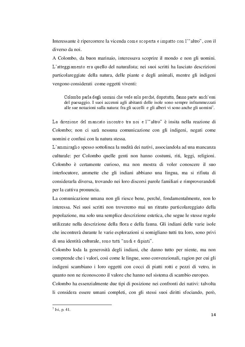 Estratto dalla tesi: L'incontro con l' ''Altro'': l'indio in Perù dalla scoperta alla letteratura indigenista.