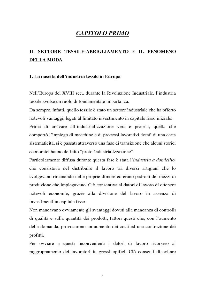 Anteprima della tesi: Il sistema della moda e la comunicazione: strumenti ed obiettivi, Pagina 4