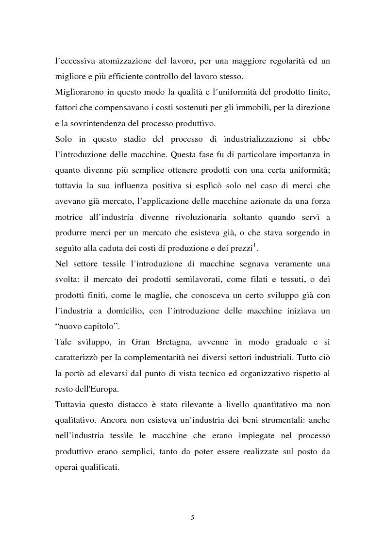 Anteprima della tesi: Il sistema della moda e la comunicazione: strumenti ed obiettivi, Pagina 5